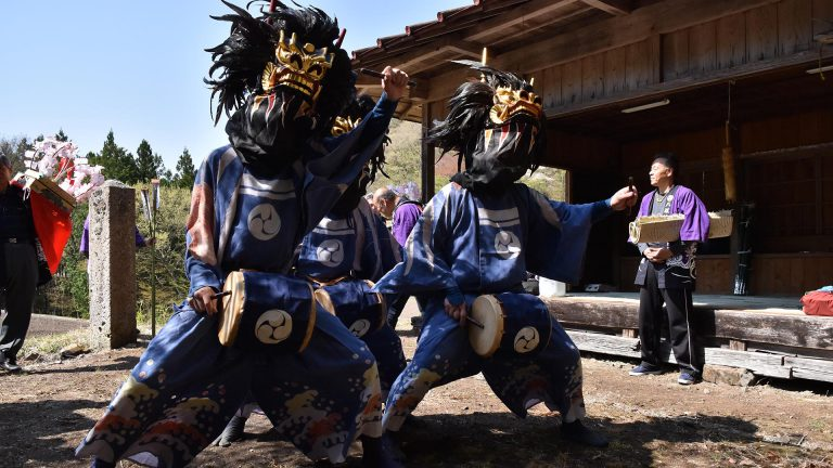 東小来川の獅子舞